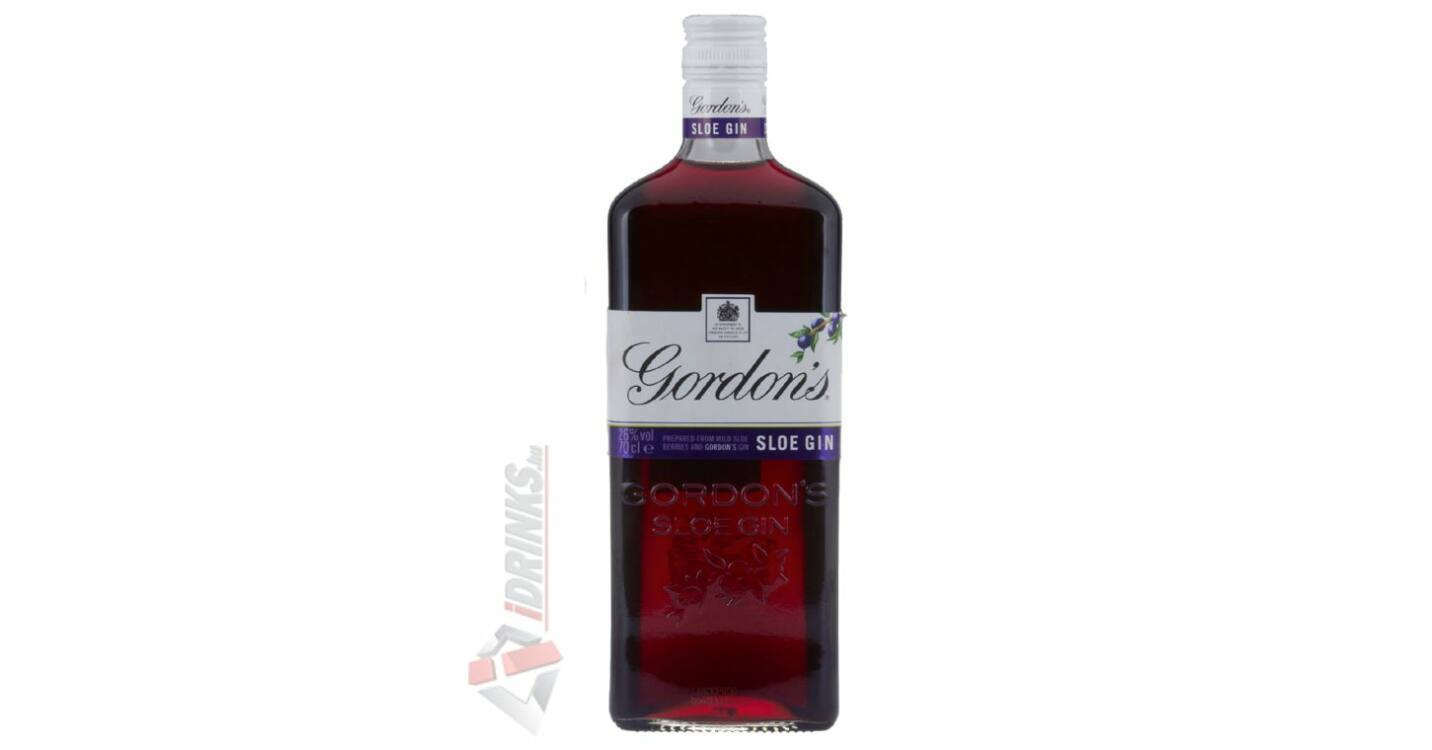 Gordons Sloe Gin >> Gordons Sloe Gin 0 7l 26 Idrinks Hu