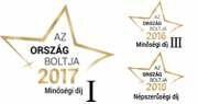 Ország Boltja 2015 Népszerűségi díj Élelmiszer kategória I. helyezett