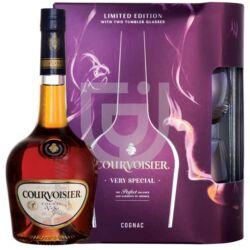 Courvoisier VS Cognac (DD+2 Pohár) [0,7L|40%]