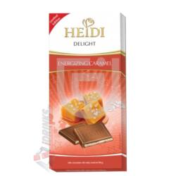 Heidi Delight Energizáló Sós Karamellás Tejcsokoládé [110g]