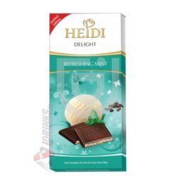Heidi Delight Frissítő Mentás Étcsokoládé [110g]