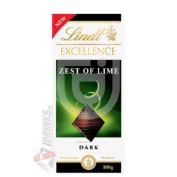 Lindt Excellence Lime-os Csokoládé [100g]
