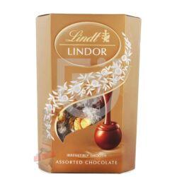 Lindt Lindor Vegyes Csokoládé Golyó Válogatás [200g]