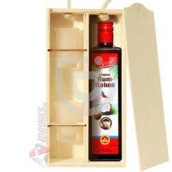 Casali Rum-Kokos Likőr Exkluzív Fadobozban [0,5L|15%]