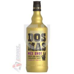 Dos Mas Mex Shot Tequila-s Fahéjlikőr [0,7L 20%]