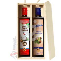 Manner Original - Casali Rum-Kokos Duo Pack Fadobozban [2*0,5L|15%]