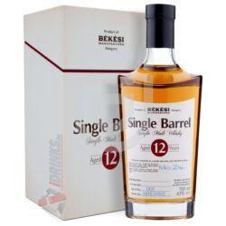 Békési Manufaktúra Single Barrel 12 Éves Whisky (DD) [0,7L|43%]