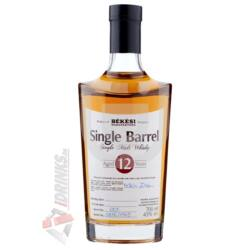 Békési Manufaktúra Single Barrel 12 Éves Whisky [0,7L 43%]