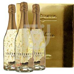 Österreich Gold  /aranypelyhes/ Pezsgő (Special Pack) [3*0,75L|9,5%]