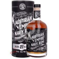 Austrian Empire Solera 21 Years Navy Rum [0,7L|40%]
