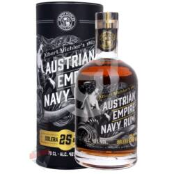 Austrian Empire Solera 25 Years Navy Rum [0,7L|40%]