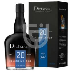Dictador 20 Years Rum (DD) [0,7L|40%]