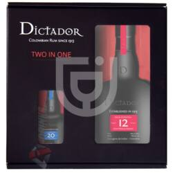 Dictador 12 & 20 Years Rum Two in One Pack [0,7L+0,05L|40%]