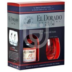 El Dorado 12 Years Rum (DD + 2 Pohár) [0,7L|40%]