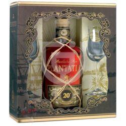 Plantation XO Extra Old Rum (DD+2 Pohár) [0,7L|40%]