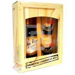Puerto Blanco Rum (DD+2 Pohár) [0,5L|37,5%]