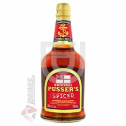 Pussers Original Spiced Rum [0,7L|35%]