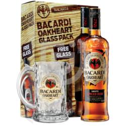 Bacardi Oakheart Rum (DD+Pohár)  [0,7L 35%]