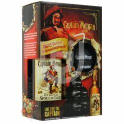 Captain Morgan Spiced Gold Rum (DD+ Ágyúgolyó) [0,7L|35%]