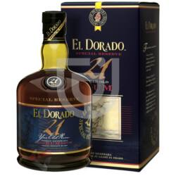 El Dorado 21 Years Rum [0,7L|43%]