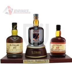 El Dorado Rum Exkluzív Collection (Fa állvány + DD) [3*0,7L|42%]
