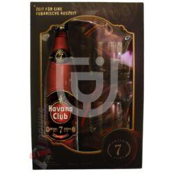 Havana Club 7 Years Rum (DD+2 Pohár) [0,7L|40%]