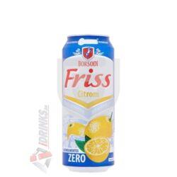 Borsodi Friss Zero Citrom Alkoholmentes /Dobozos/ [0,5L|0,5%] [24db/pack]