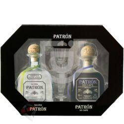 Patron Tequila Mix Pack (DD+2 Pohár) [2*0,35L]