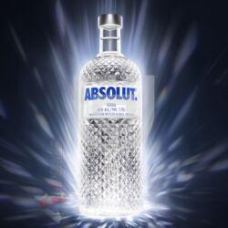 Absolut Blue Vodka Night Bottle [1,75L|40%]