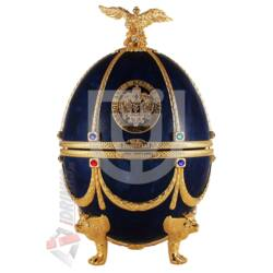 "Imperial Collection Faberge Egg  ""Sapphire disagne"" Vodka [0,7L
