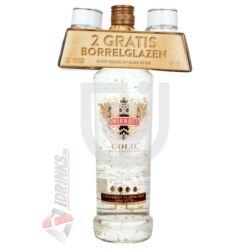 Smirnoff Gold Vodka (+ Ajándék 2 pohár) [0,7L|37,5%]