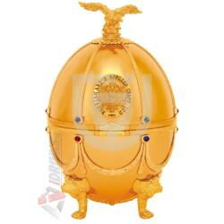 """Imperial Collection Faberge Egg  """"Gold disagne"""" Vodka [0,7L