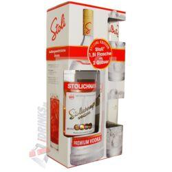 Stolichnaya Vodka (DD+ 2 Pohár) [1,5L 40%]