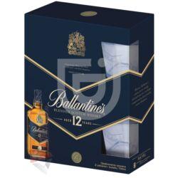 Ballantines 12 Years Whisky (DD+2 Pohár) [0,7L 40%]