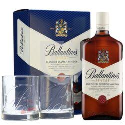 Ballantines Whisky (DD+2 Pohár) [0,7L|40%]