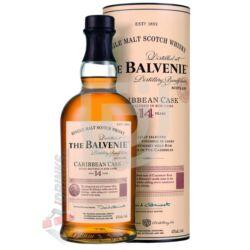 Balvenie 14 Years Caribbean Cask Whisky [0,7L|43%]