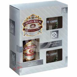 Chivas Regal 12 Years Whisky (DD+2 Pohár) [0,7L 40%]