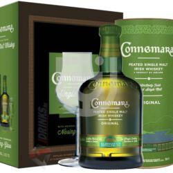 Connemara Irish Peated Whiskey (DD+Pohár) [0,7L|40%]