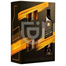 Johnnie Walker Black Label 12 Years Whisky (DD+2 Pohár) [0,7L 40%]
