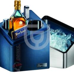 "Johnnie Walker Blue Label Porsche Design ""Mini Cube"" Whisky [0,7L