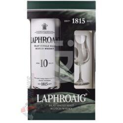 Laphroaig 10 Years Whisky (DD+Pohár)  [0,7L|40%]