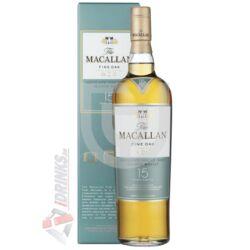 Macallan 15 Years Fine Oak Whisky [0,7L 43%]