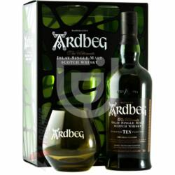 Ardbeg 10 Years Whisky (DD+Pohár)[0,7L 46%]