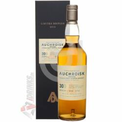 Auchroisk 30 Years Natural Cask Strength Whisky [0,7L 54,7%]