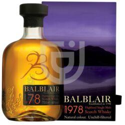 Balblair 1978 Vintage Whisky [0,7L|46%]