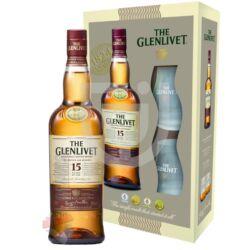 Glenlivet 15 Years Whisky (DD+2 Pohár) [0,7L|40%]