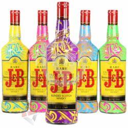 """J&B Rare """"Tattoo"""" Whisky [1L 40%]"""