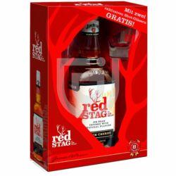 Jim Beam Red Stag Whiskey (DD+ 2 Pohár) [0,7L 40%]