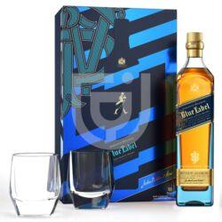 Johnnie Walker Blue Label Whisky (DD+2 Pohár) [0,7L 40%]