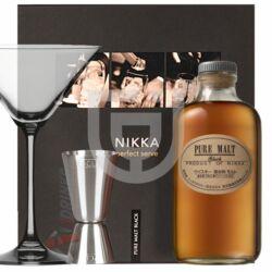 Nikka Pure Malt Black Whisky (DD+ Pohár+ Mérce) [0,5L|43%]